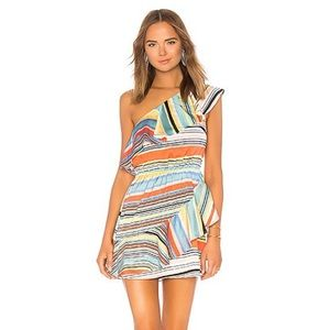 LOVERS + FRIENDS PIPPY DRESS IN ARUBA STRIPE